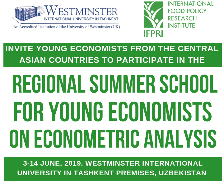 Call for Applications: 2019 Regional Summer School for Young Economists